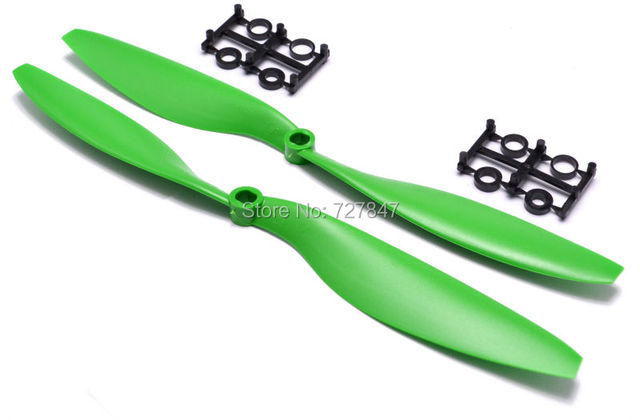 6 Pairs/12pcs ABS 10×4.5″ 1045 1045R CW CCW Propeller For 550 FPV Multi-Copter RC QuadCopter APC Promotion