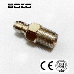 Paintball Air Gun Airsoft PCP 8mm Männlichen Schnell Trennen Fitting/Adapter füllen nippel 1/8 NPT Themen kostenloser versand