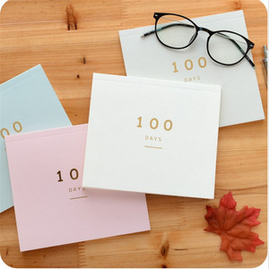 100 Days Planner Notebook One