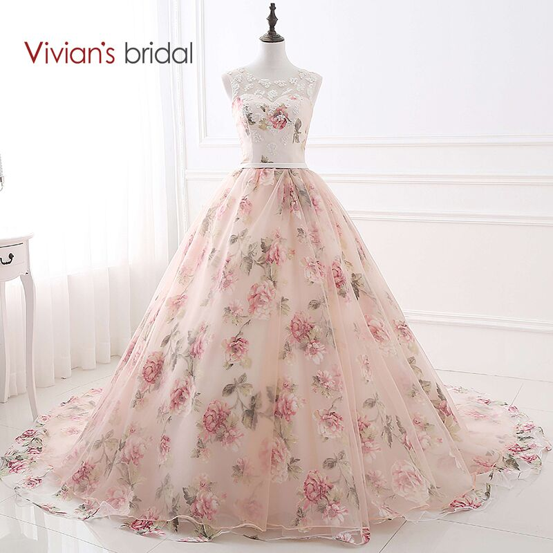 Vivian nupcial de bola del amor del vestido de noche vestido sin ...