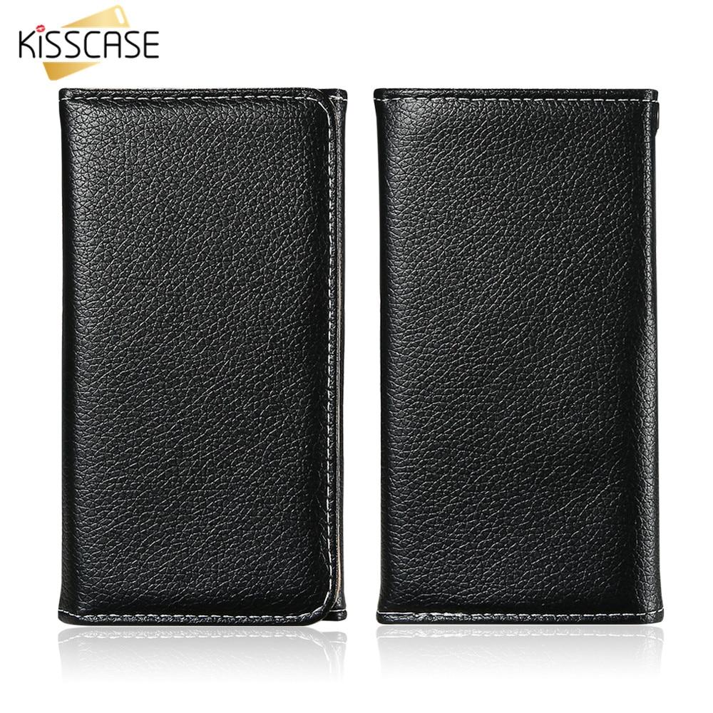 KISSCASE Plånbokstelefod fodral för iPhone 7 8 Plus Original - Reservdelar och tillbehör för mobiltelefoner