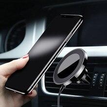 Автомобильный мобильный телефон навигация беспроводной зарядное устройство для iPhone X samsung s8 s9 plus установлен на автомобильном выходе воздуха телефон кронштейн