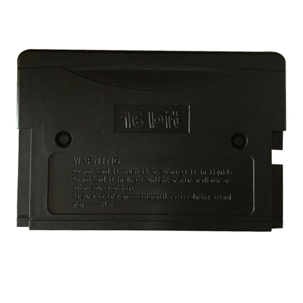 10pcs a lot EU/US Shell Game Cartridge Replacement Plastic Shell for 16 bit MD Game Card For Sega Mega Drive For Genesis