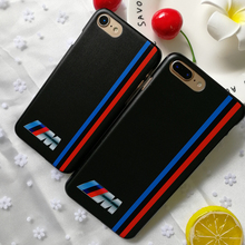 For iphone 7 case luxurious Slim BMW hard plastic Cover Case For Apple iphone 4 4s 5 5 5s SE 6 6S 7 8 Plus X  Mobile Phone Cases