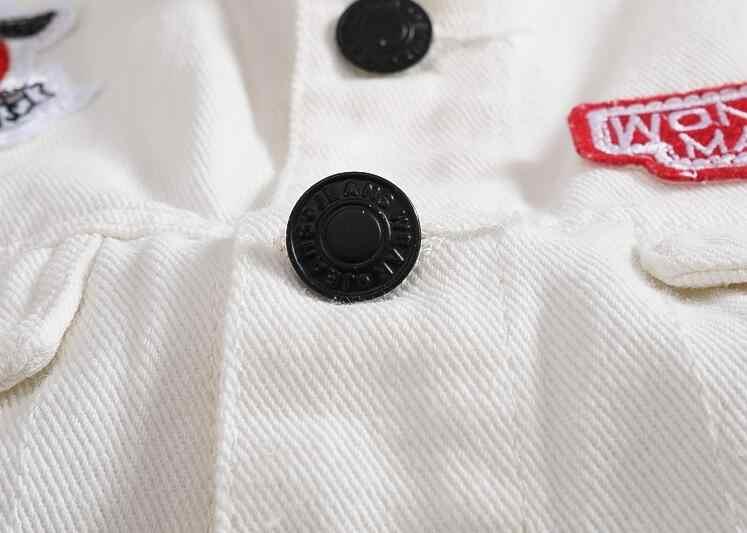 リッピングジーンズジャケット男性白デニムベストヒップホップデニムチョッキ男性カウボーイノースリーブジャケットジレオムプラスサイズ 5XL
