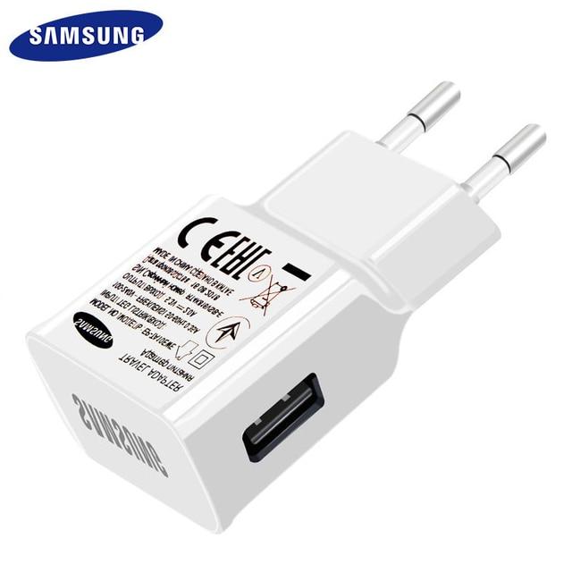 502acd0399b Samsung Cable de cargador USB 100% Original Galaxy S5 Note3 cargador de  viaje pared USB3