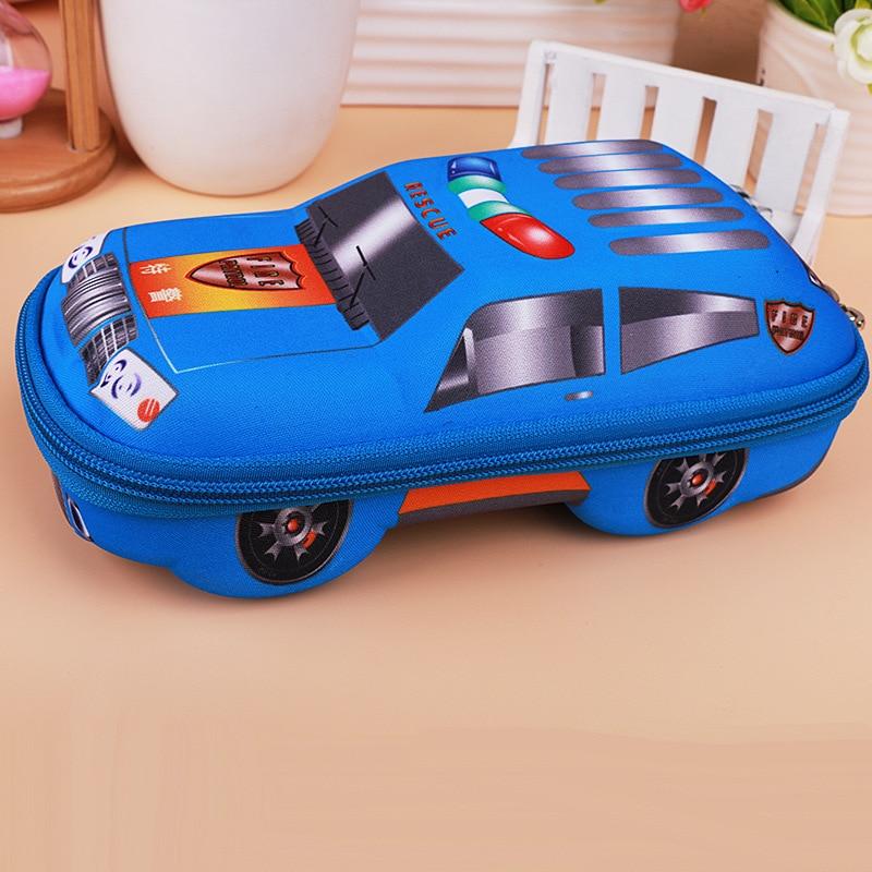 EVA Car Pencil Case For Boys,large Capacity Cute School Pencil Box,high Quality Pen Case Pen Pouch Bag