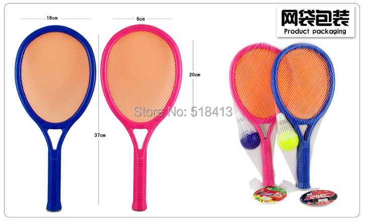 Children's Badminton Racket Tennis Let The Baby More Movement Parent-child Sports Toys Educational Unisex Plastic 8-11 Years