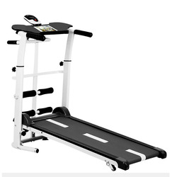 2019 new treadmill, folding mechanical treadmill, fitness treadmill, multi-function silent fitness equipment treadmill with belt