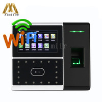 Iface302 Face Time Attendance And Access Control 4.3inch Touch Screen Double Camera With WIFI Communication