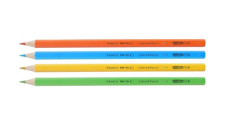 2019 Qiao Mi ensemble de crayons de couleur papeterie pour fournitures scolaires 36 couleurs crayon artiste peinture dessin