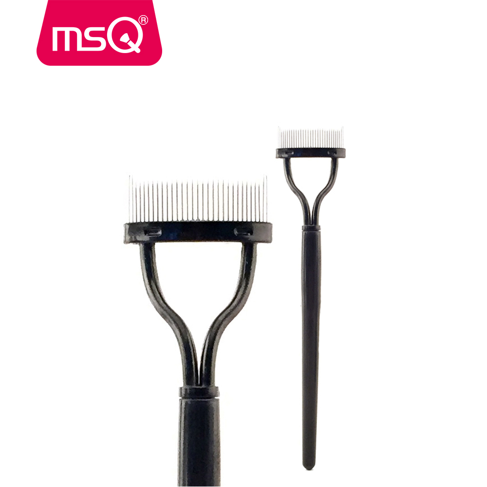 MSQ Mascara Applicator Guide Makeup Brush Comb Eyelashes Curler Eyebrow Comb Make Up Accessories Cosmetic Makeup Beauty Tool