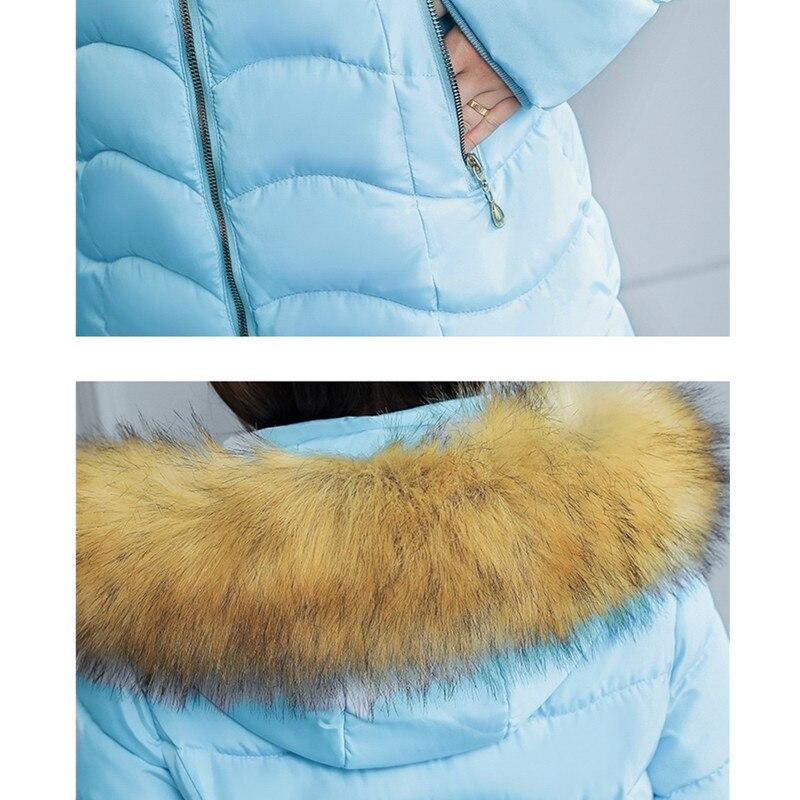 2018 frauen Winter Jacke Lange Dicke Baumwolle Gepolsterte Schnee Oberbekleidung frauen Unten Baumwolle Jacken Mit Kapuze Parkas Casual Mantel S141