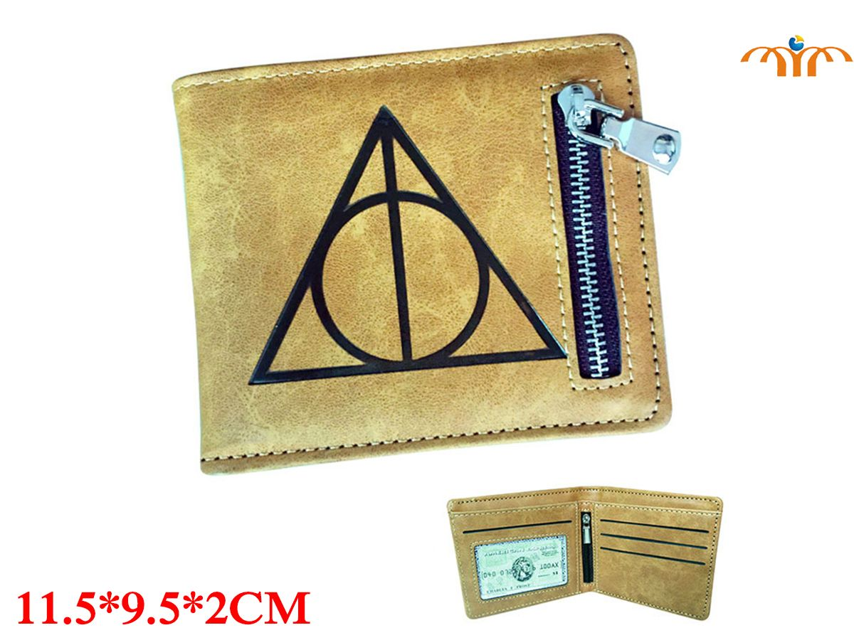 Harry Movie PU Leather Wallet Fashion Coin Pocket Card Holder Purse Handbag Bag Cosplay Gift