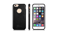 Business Men second Choice 2 In 1 Icarer High quality Litchi Pattern leather Phone Case Cover For iPhone6 6s Phone