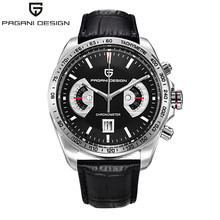 Multifunction PAGANI DESIGN Mens Watches Top Brand Luxury Men Quartz Watch Dive Sport Male Clock Chronograph Military Wristwatch