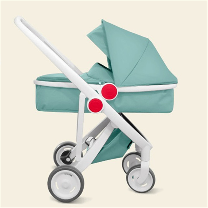 Babyruler Baby Stroller 3 in 1 High Landscape Folding Baby Carriage For Newborn Fashion Pram European Bebek Arabasi Kinderwagen babyruler baby stroller 3 in 1 high landscape aluminum luxury folding baby carriage pram for newborn kinderwagen carrinhos koltu
