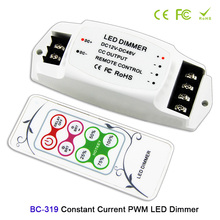 BC 319 PWM Constant Current LED Dimmer+RF Wireless remote control 350mA/700mA/1050mA/2400mA for DC12V-48V led panel light