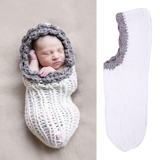 Bebé fotografía recién nacida envuelve ganchillo hecho a mano de ...