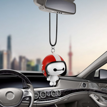 Car Pendant Cute Helmet Baymax Robot Doll Hanging