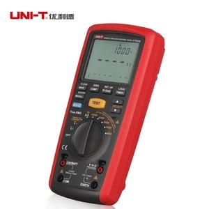 Image 5 - Medidor Digital portátil de 1000V, valores eficaces auténticos, medidor de resistencia de aislamiento, multímetro, Ohm, voltímetro, UNI T, UT505A