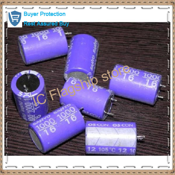 Teardown organic solid electrolytic capacitor large capacity solid state <font><b>16</b></font> <font><b>v</b></font> <font><b>1000</b></font> <font><b>uf</b></font> capacit image