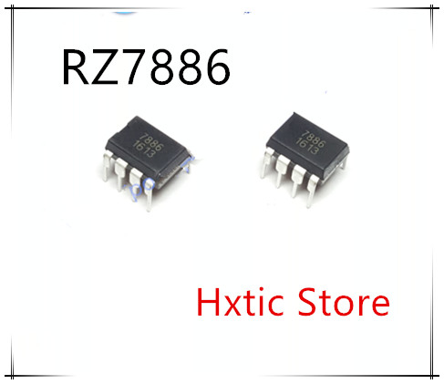 NEW 10PCS/LOT RZ7886 7886 DIP-8 IC