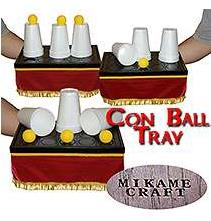 Con Ball Tray (35cm*22.5cm*15cm) Mikame magic trick new cups magic props stage gimmick vanish appearance Magia Toys,Joke,Classic got it covered umbrella magic magic trick magic device stage gimmick illusion card magic