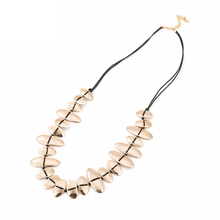 Chokers Necklaces For Women Black/Brown Wax Rope Chain Necklace With Gold/Silver Copper Collares Collier Femme