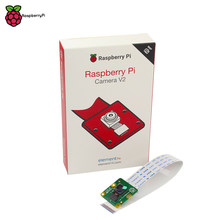 Official Raspberry Pi Camera V2 Module with Sony IMX219 Light-sensitive Chips 8MP Pixels 1080P Video Original RPI 3 Camera(China)