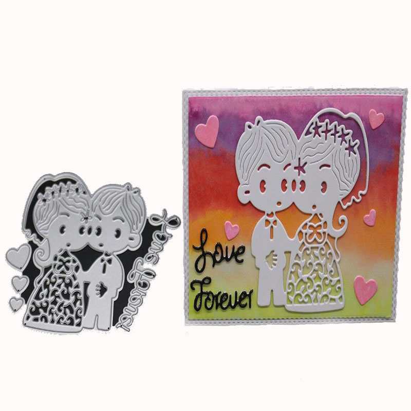 Be my valentine Metal Cutting Dies for DIY Scrapbook Album//photo Cards Making Z0