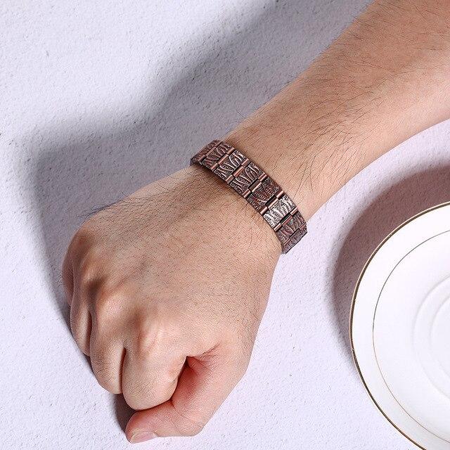 модные ювелирные изделия медный цвет 2 стиля браслеты мужские фотография