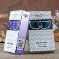 7 par/bolsa mariposa máscara de ojo de seda hidratante ácido hialurónico máscara de ojos Calmante Ojo elástica anti-ojeras bolsas de los ojos A1601