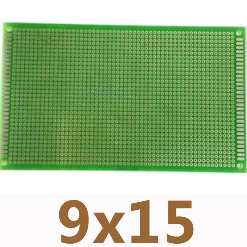 9*15cm Single Side Tin Plating PCB Universal Board High Quality Glass Fiber Board Experiment Matrix Circuit Board