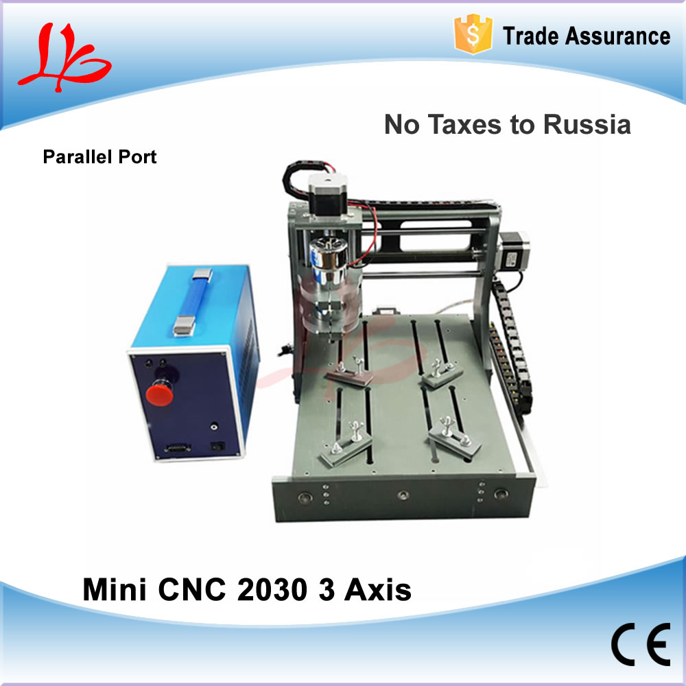 No Tax to Russia & Ukraine, Parallel Port CNC Engraving Machine CNC Wood Router Engraver CNC 2030 CNC Machine mini cnc router machine 2030 cnc milling machine with 4axis for pcb wood parallel port