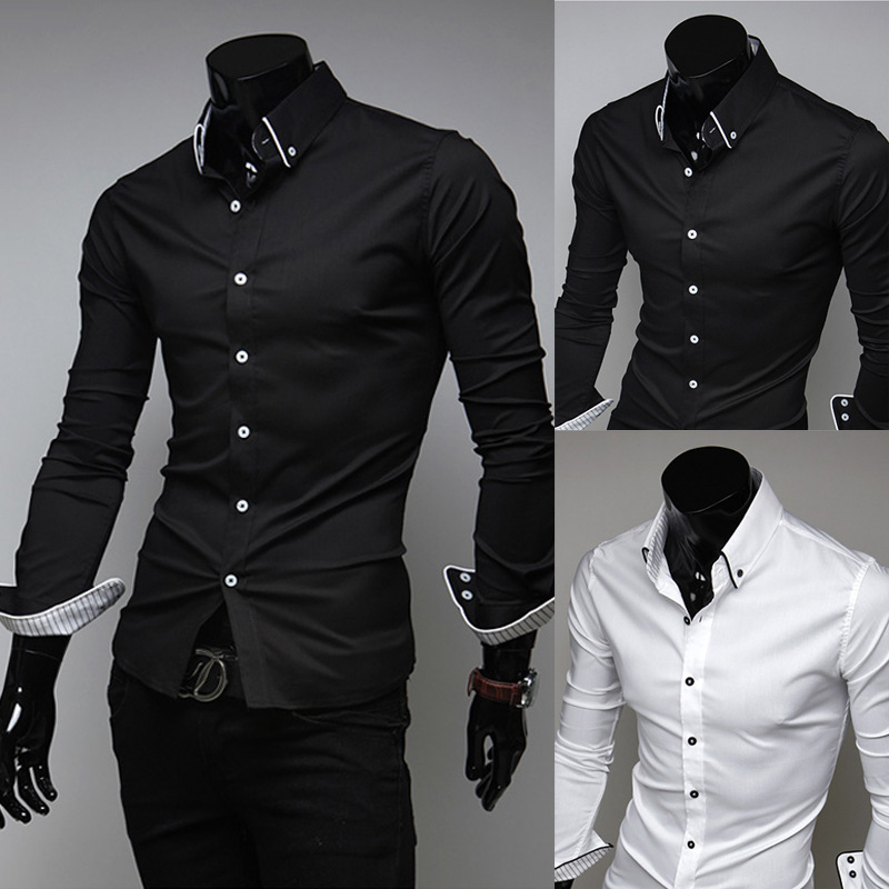 Compare Prices on Best Mens White Dress Shirt- Online Shopping/Buy ...