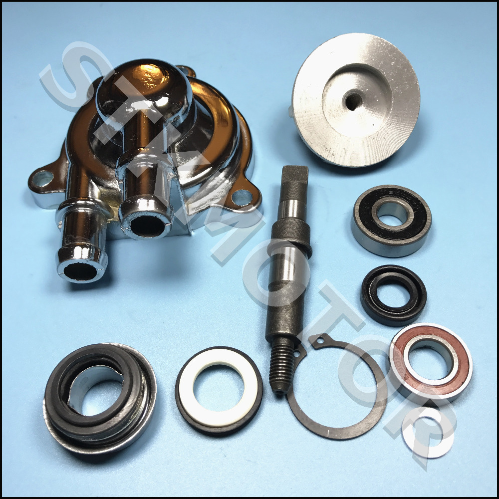 US $18 99 |Zongshen 200CC 250CC Black Colour Water Cool Water Pump Assembly  Set ATV Quad Bike Parts-in ATV Parts & Accessories from Automobiles &