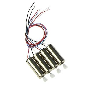 Syma X5 X5C X5C-1 2pcs Anti-clockwise Motor X5-07 and 2pcs Clockwise Motor X5-08 with Plastic Gear,Spare Parts for RC Quadcopter