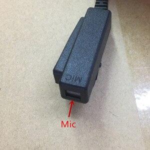 Image 4 - גדול PTT ברור אוויר צינור אוזניות אוזניות M תקע 2 סיכות עבור motorola A8, ep450, cp040, gp88s, gp2000, Hytera ווקי טוקי