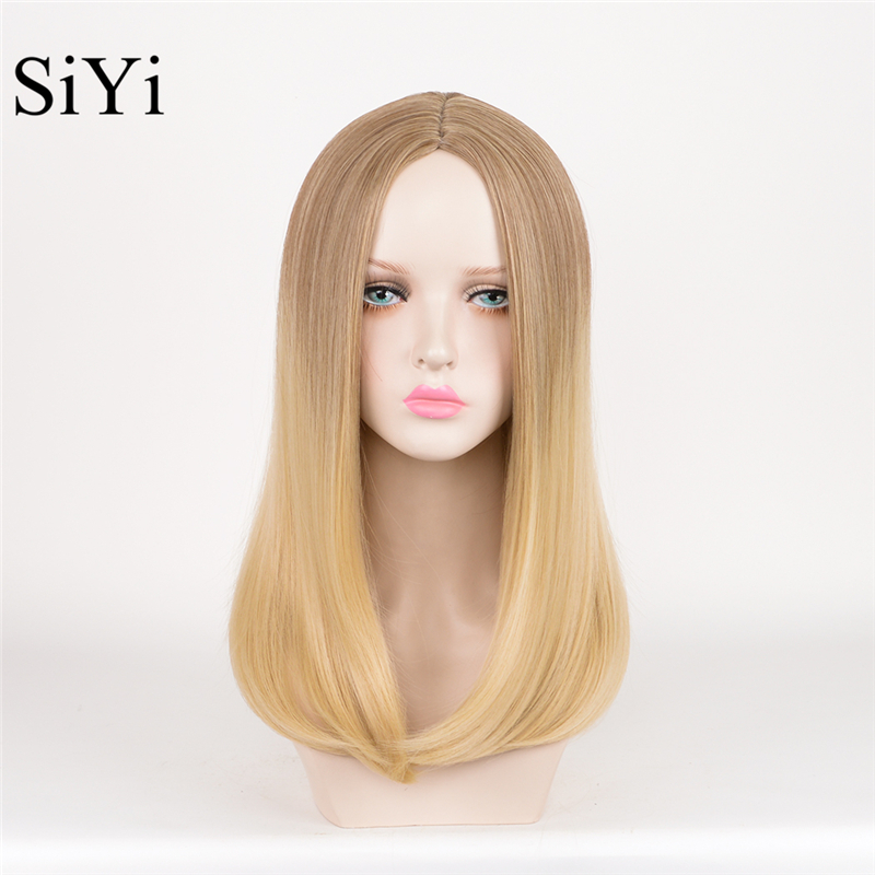 Ivanka Trump Blonde Ombre Wig Long Straight Cheap Women Synthetic Wig  Fashion Natural Hair Women s Brown Wigs For White Women on Aliexpress.com  549c08fb7