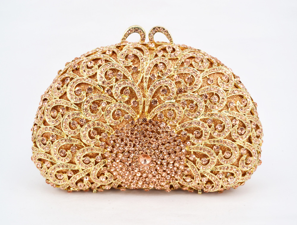 Any color can be customized Crystal Purse New Style Party Bag Women Handbag Evening Bag  88395
