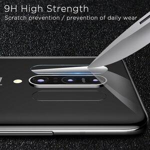 Image 4 - Per OnePlus 7 Uno Più 7 OnePlus7 Vetro 9D Copertura Completa 9D Temperato Pellicola di Schermo di Vetro + Posteriore dellobiettivo di Macchina Fotografica protezione Per 1 + 7 1 Plus7