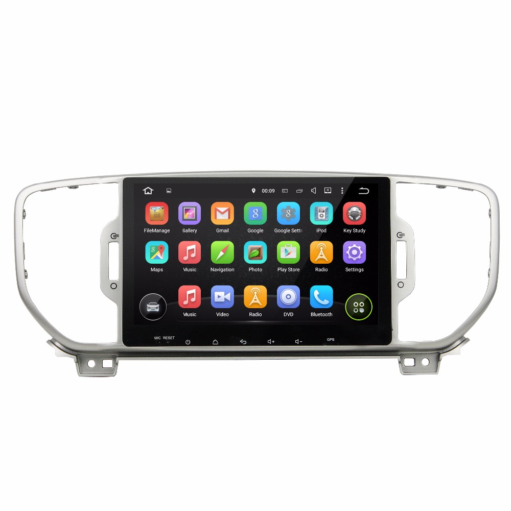 KLYDE 2 Din 9 Android 7 1 Car Multimedia Player For KIA Sportage 2016 Car font