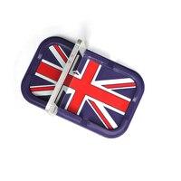 Multi función de Union Jack Uk Flag Skid antideslizante estera para el teléfono móvil para el MINI Cooper
