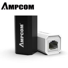 AMPCOM RJ45 разъем 8P8C Женский удлинитель LAN разъем адаптер Встроенный Cat7/Cat6/Cat5e Ethernet кабель