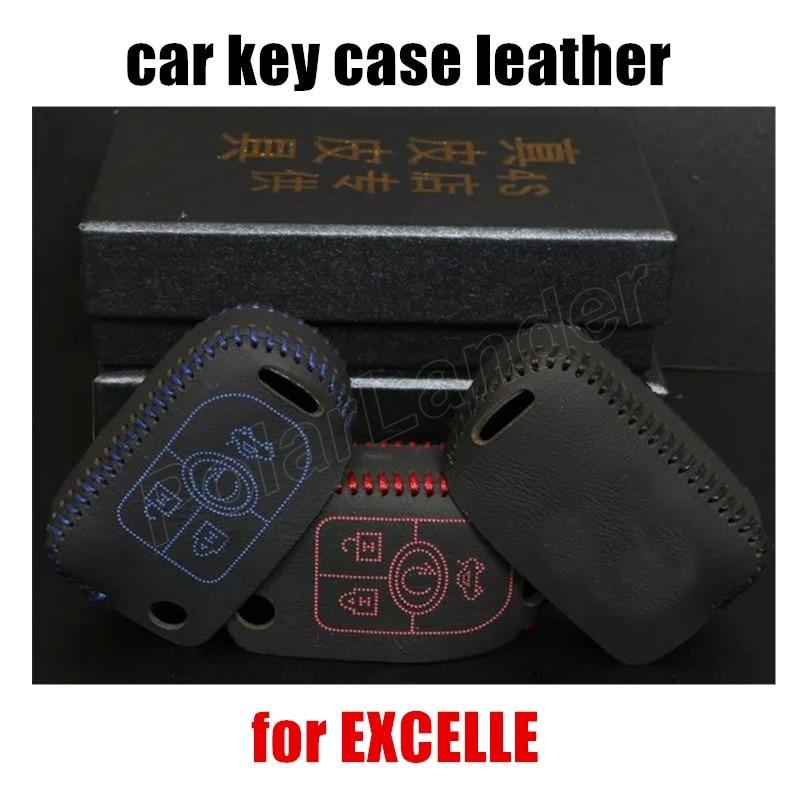 8d49a8c967fde Tylko Redcar klucz skrzynki pokrywa do szycia Ręcznie DIY car styling  Prawdziwa jakości skóry fit dla BUICK EXCELLE bestsellery