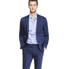 Men's suits, Fashionable men's suits fashion lapel two grain of a high-end business two-piece men preferred suit jacket+pants