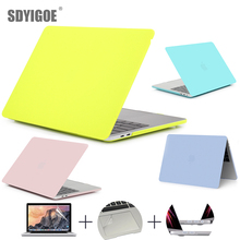 Marble protective shell Case For MacBook 11Air 13Pro Retina for Apple macbook New Pro with Touch Bar 13 15 inch Color case цена и фото