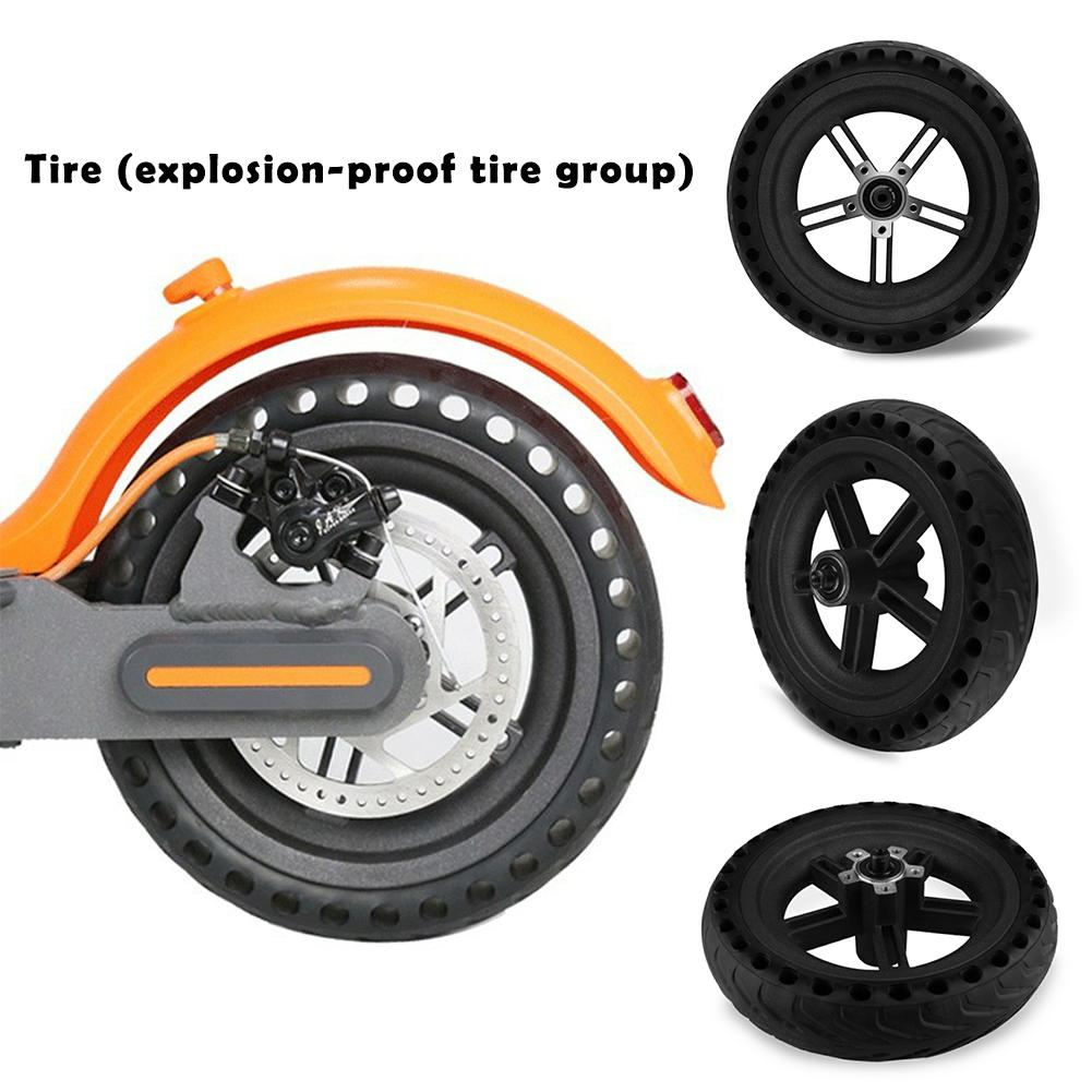 Pneu solide pour Xiaomi MIUI Scooter électrique 8.5 pouces pneu d'absorption des chocs de remplacement de roue de Scooter