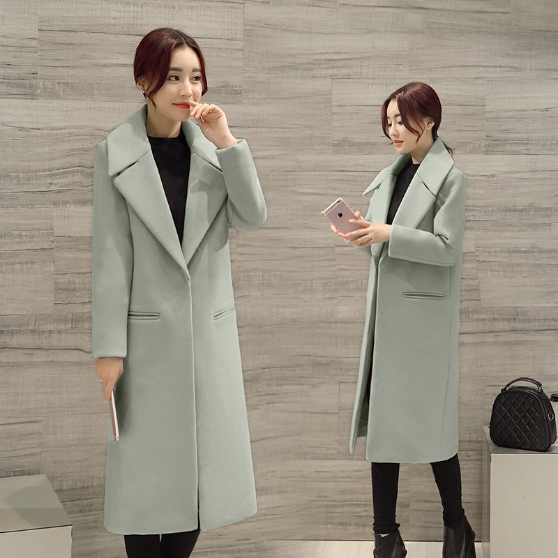 En Hiver Laine Mode Green Couvert Femelle Femmes Confortable pink Grey blakc light Manteau Zx1141 Concise Poches Style De Col French Tweed Bouton Mince V Eq4rzqCw